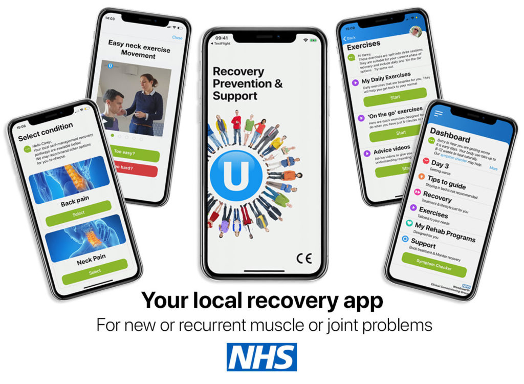 Your local recover app